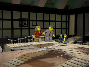 Inception em Lego