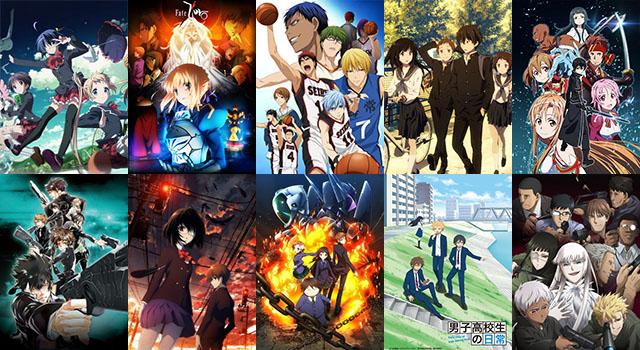 vota u00e7 u00e3o  u2013 melhores animes de 2012