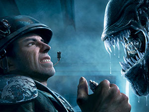 "Aliens: Colonial Marines - trailer ""Contact"""