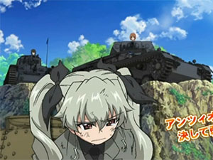 Girls & Panzer filme e OVA - trailer