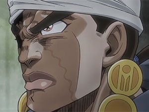 JoJo's Bizarre Adventure Part 3 – trailer Mohammed Avdol