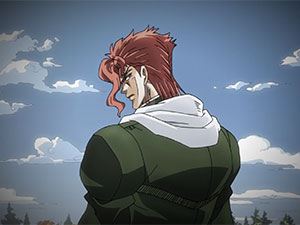 JoJo's Bizarre Adventure Part 3 - trailer Noriaki Kakyoin