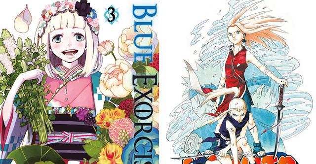 Devir lança Naruto 6 e Blue Exorcist 3
