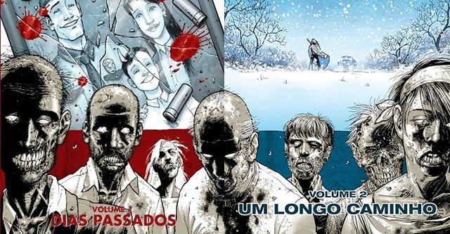 Pack The Walking Dead 1 e 2 pela Devir