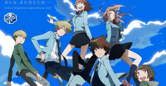 Digimon Adventure tri - imagem promocional da sequela de Digimon Clássico
