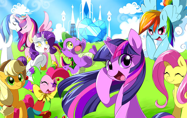 My Little Pony 4 No Canal Panda Otakupt