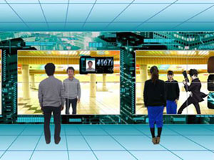 Sistema Sybil analisa visitantes da estação de Shinjuku