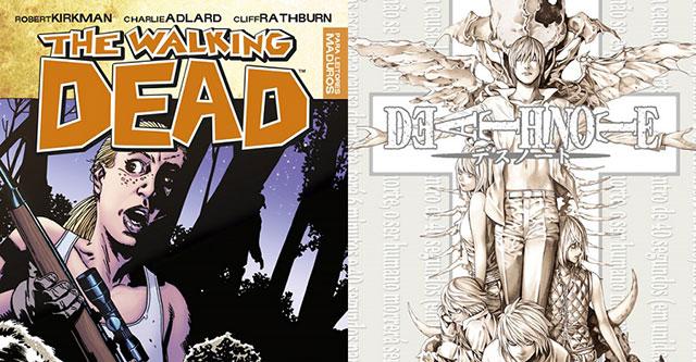 Devir lança Death Note 12, Naruto 9, Blue Exorcist 4 e The Walking Dead 11