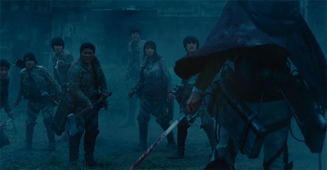 Attack on Titan Live-action - trailer visto mais de 2.5 milhões de vezes