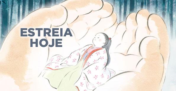 O Conto da Princesa Kaguya estreia hoje em Portugal