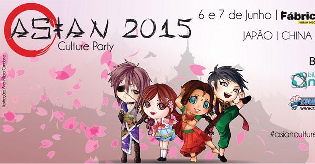 Asian Culture Party 2015 - 6 e 7 de junho