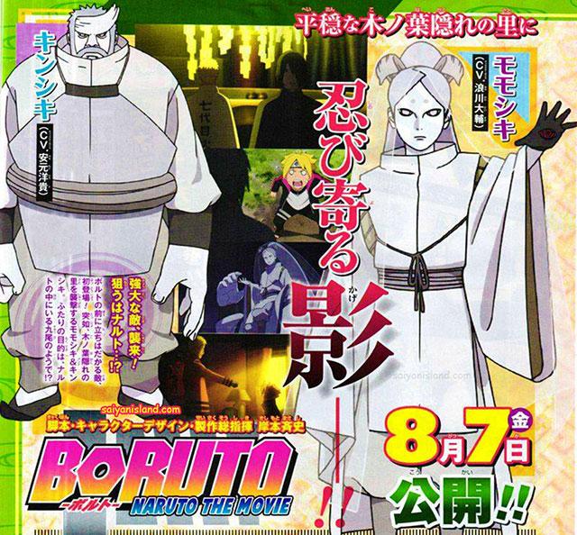 Naruto Naruto Filme Manga: Boruto: Naruto The Movie – Detalhes Dos Personagens