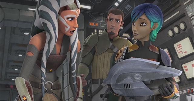 Star Wars: Rebels - trailer da 2ª temporada