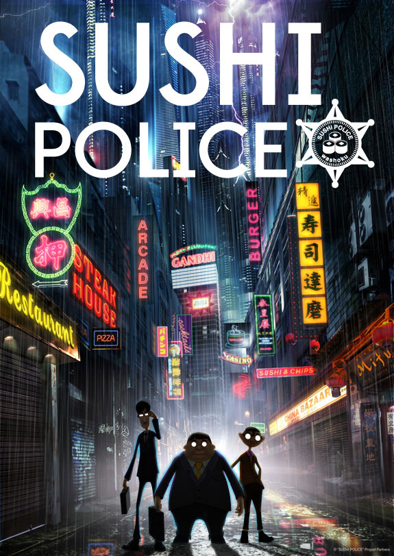 Sushi Police - poster