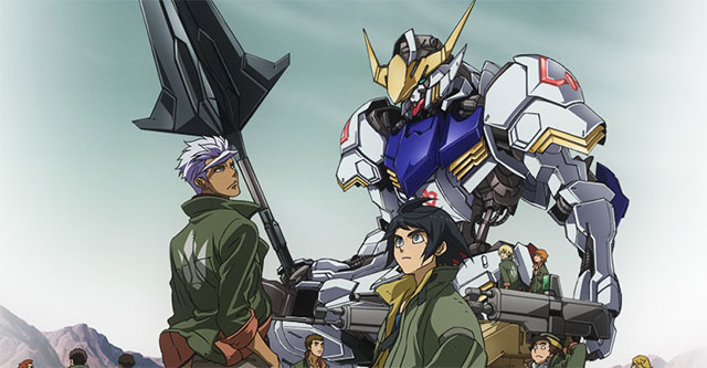 Gundam: Iron-blooded Orphans vai ter 25 episódios