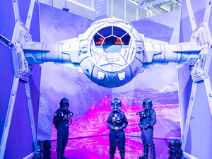 Tie Fighter na Comic Con Portugal 2015