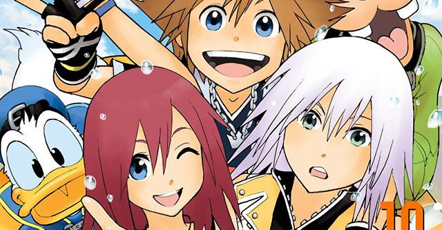 Terminou o manga de Kingdom Hearts
