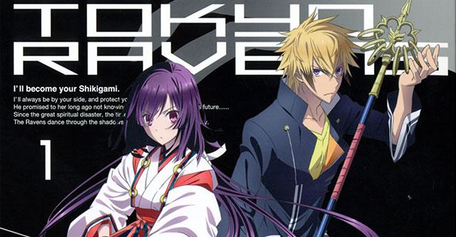 Manga de Tokyo Ravens regressa em Dezembro