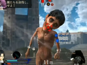 Attack on Titan para PS4 - gameplay com Levi e Eren