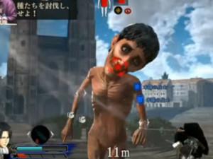 Attack on Titan para PS4 - gameplay com Levi e Eren