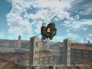 Attack on Titan para PS4 - novos vídeos