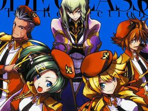 Terminou o manga Code Geass: Oz the Reflection 02