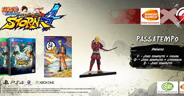 Super Passatempo: Naruto Storm 4 + Figura Naruto + Litografia