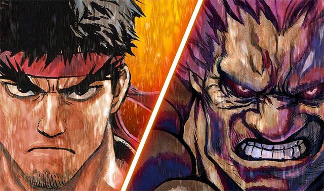 Novel de Street Fighter por ilustrador de One-Punch Man