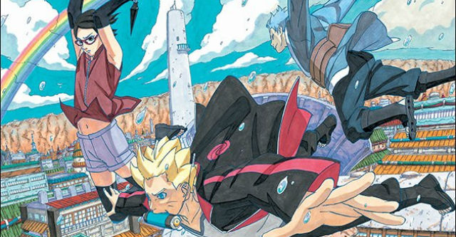 Imagens promocionais do manga de Boruto