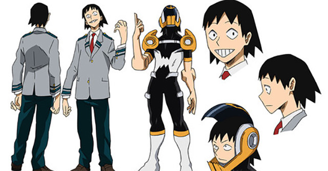 My Hero Academia – mais 5 designs de personagens