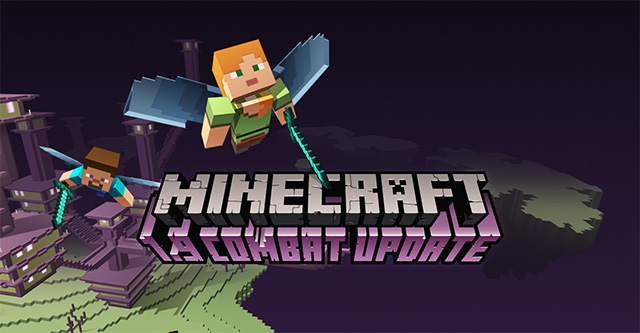 Minecraft - último update altera sistema de combate