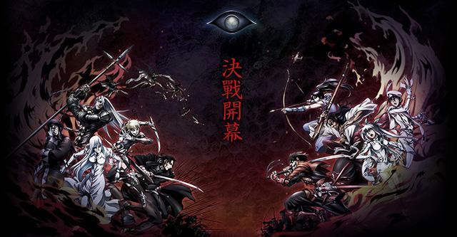 Drifters é série anime com estreia em 2016