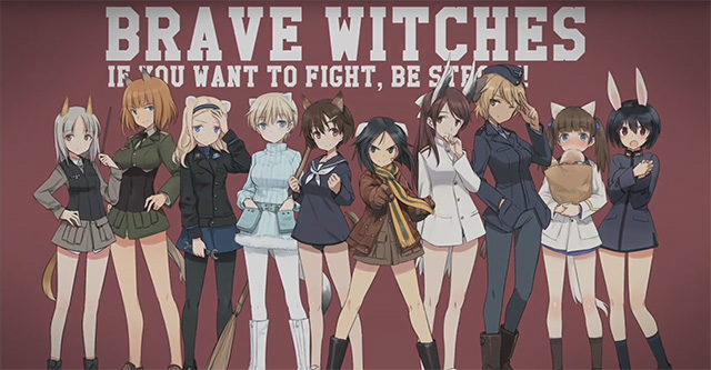 Brave Witches - vídeo promocional