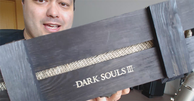 Dark Souls III – Unboxing (Press Kit)