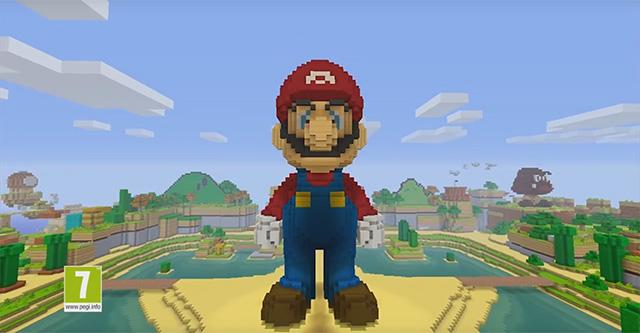 Super Mario em Minecraft
