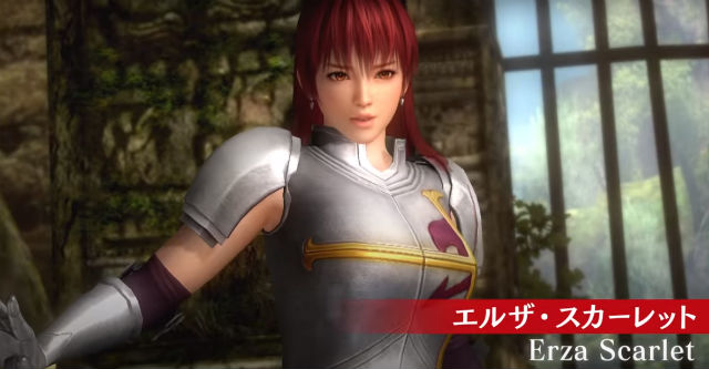 Dead or Alive 5: Last Round - Trailer Fairy Tail