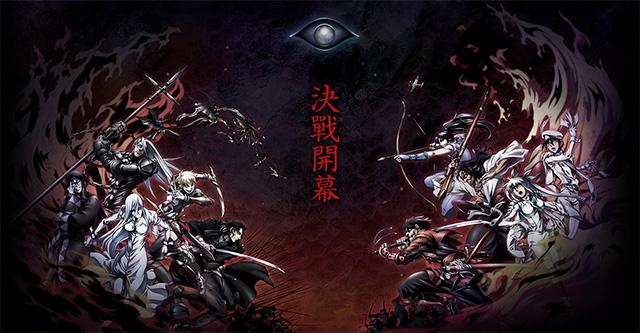 Drifters - série anime em Outubro