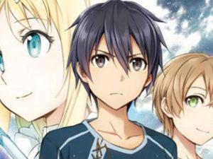 Manga de Sword Art Online Project Alicization