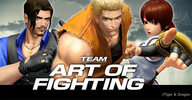 "The King of Fighters XIV – trailer ""Art of Fighting"""