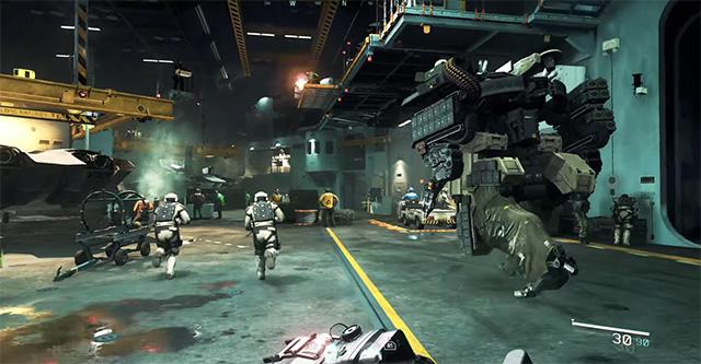 Call of Duty: Infinite Warfare - Gameplay impressionante