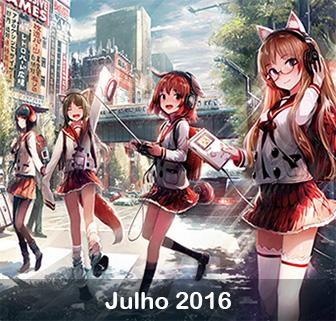 Estreias Anime Julho 2016