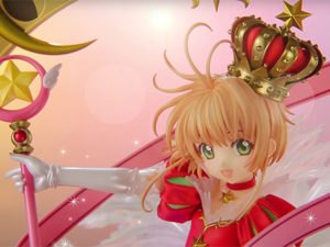 Vídeo promocional da figura de Cardcaptor Sakura