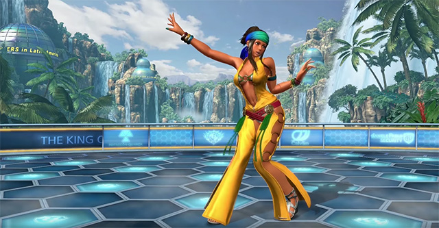 The King of Fighters XIV – Team South America