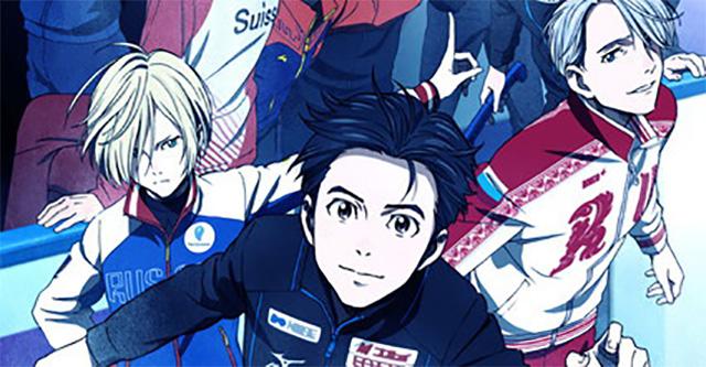 Yuri!!! on Ice estreia em Outubro