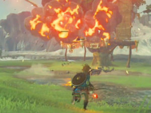 The Legend of Zelda: Breath of the Wild – Gameplay Arco e Flecha