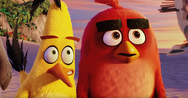 Filme de Angry Birds vai ter sequela