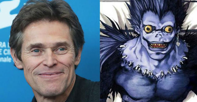 Willem Dafoe em Death Note live-action por Hollywood