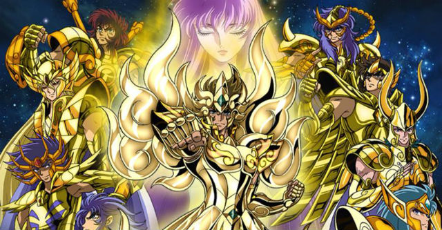 Cavaleiros do Zodíaco: Alma de Ouro na TV em Outubro