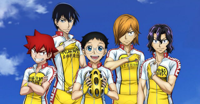Yowamushi Pedal: New Generation - design dos personagens