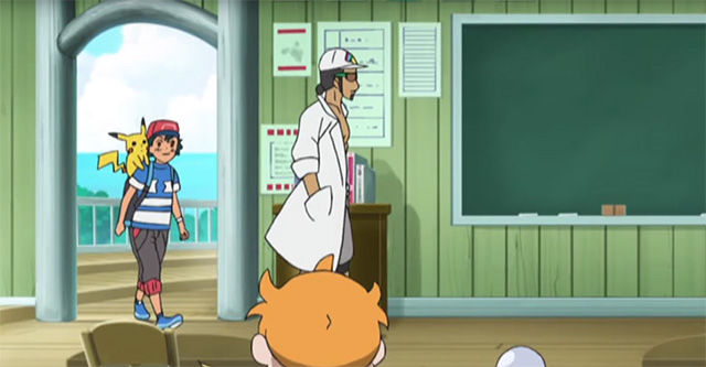 Trailer da série anime de Pokémon Sun & Moon